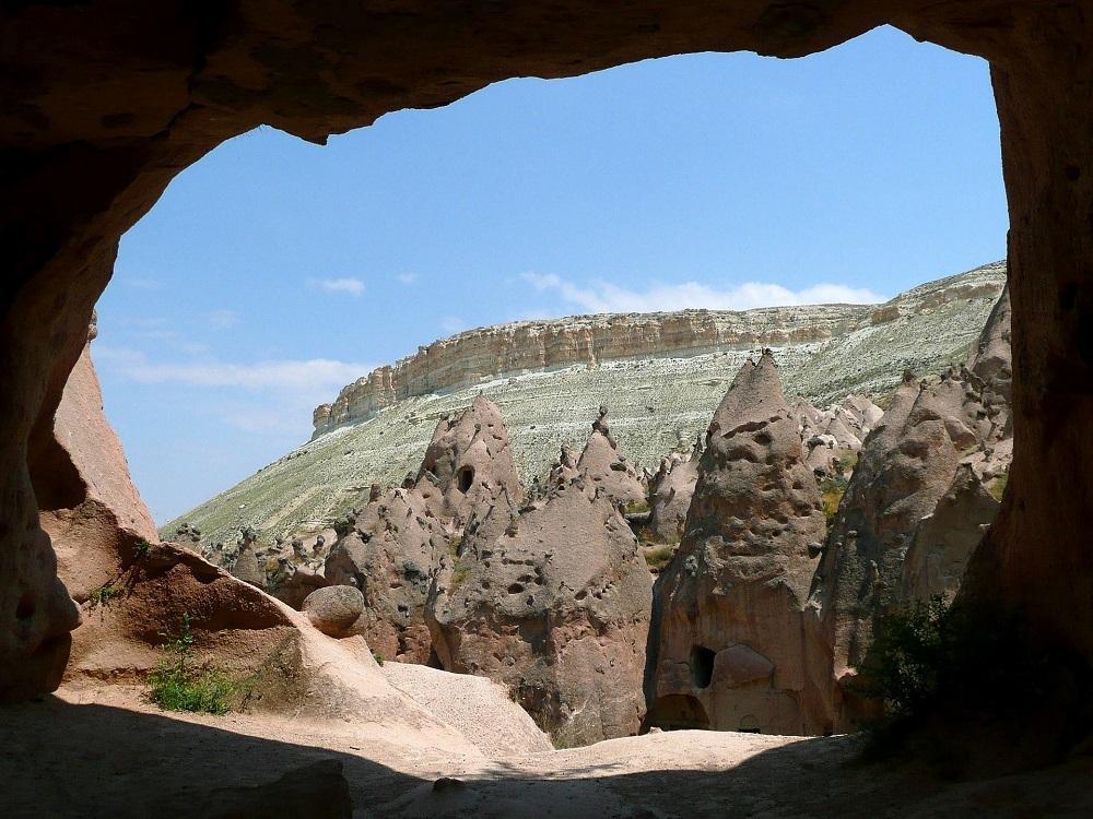 Cave Zelve Turkey