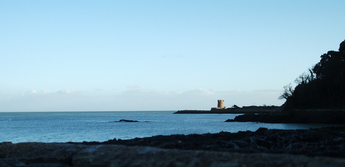Archirondel Tower, St Catherine's Bay Jersey
