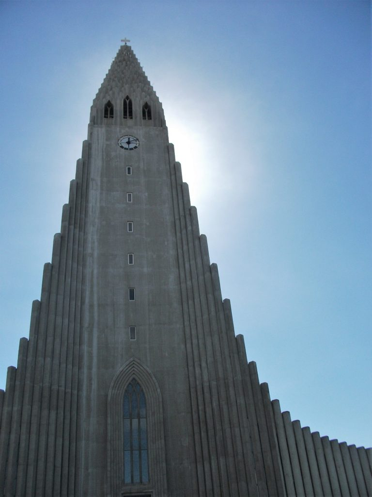 The outside of Hallgrímskirkja Church is free to explore.