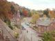 New Lanark Village in Autumn