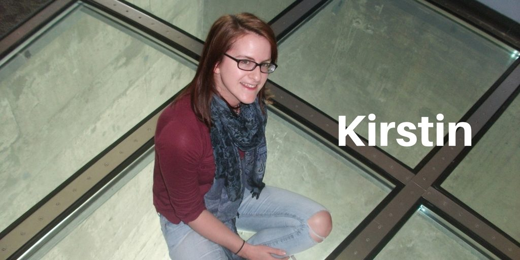 Scottish travel blogger Kirstin of the tinberry travels