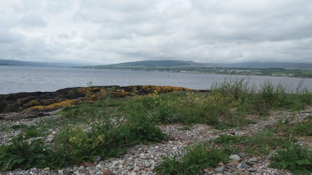 View over the Firth of Clyde from Ardmore Point