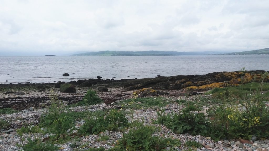 View out to the Firth of Clyde