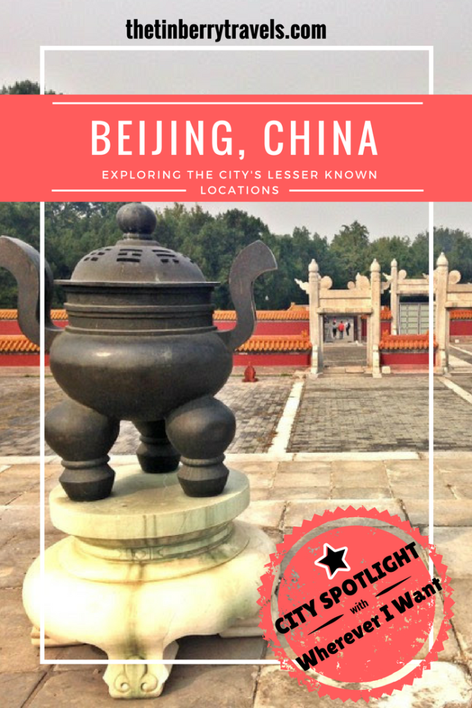 Beijing: Exploring The City's Lesser Known Locations - Beyond the tourist traps, there's plenty of hidden gems throughout China's capital city. Alice from Wherever I Want shares top tips for a trip to Beijing.