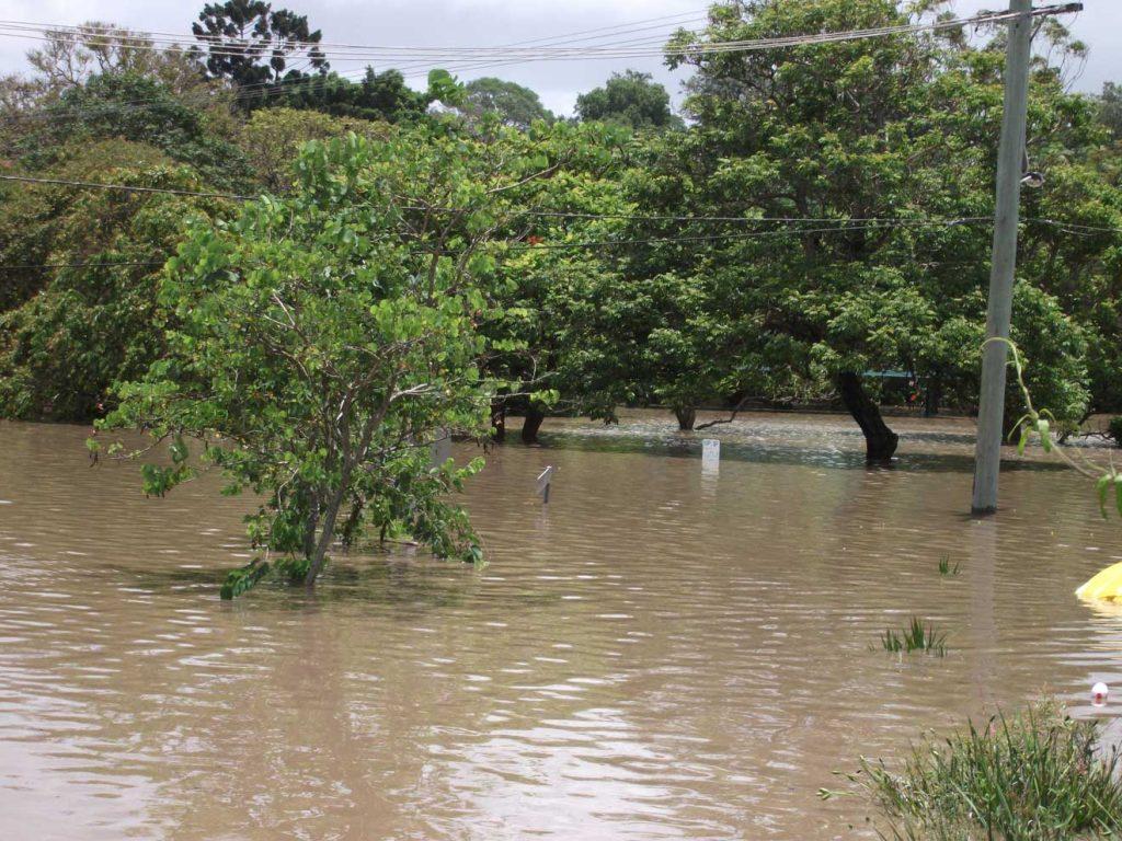 Queensland Floods - Fortitude Street Wednesday