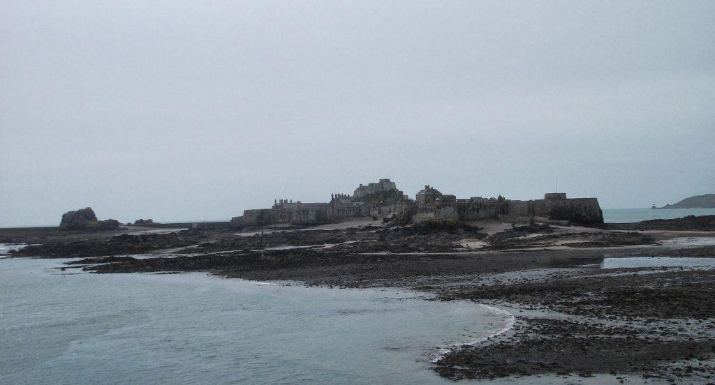 Elizabeth Castle, from St Helier