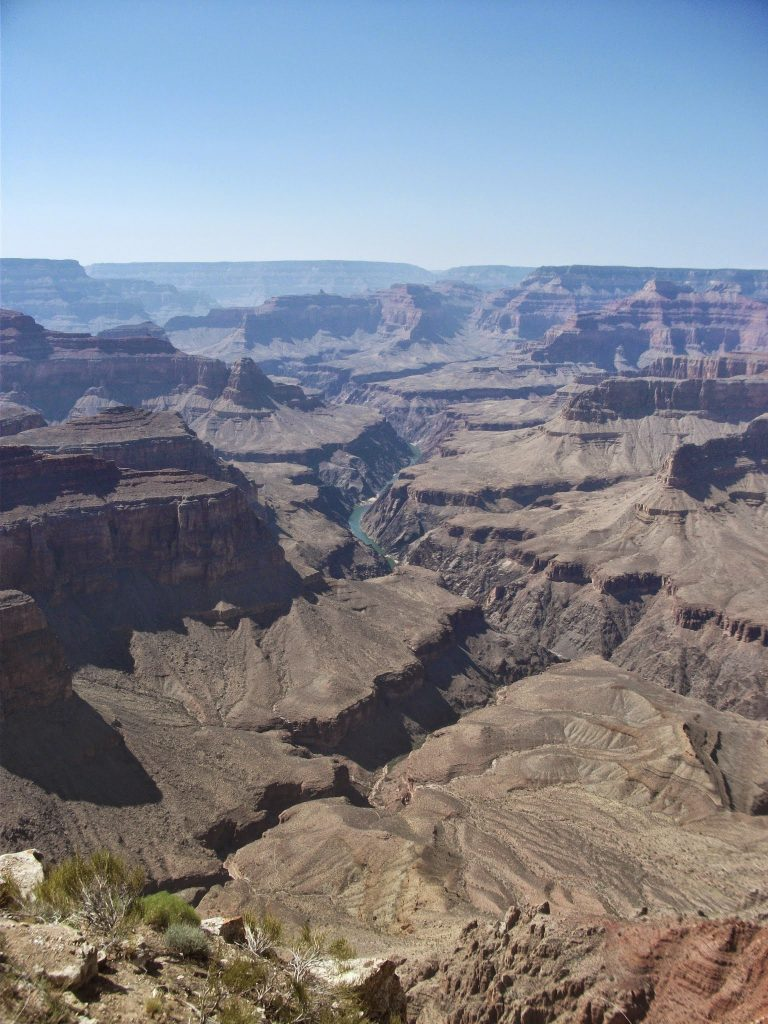 The Colorado River in The Grand Canyon National Park