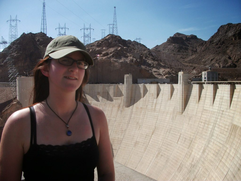 The Hoover Dam on the Nevada - Arizona Border