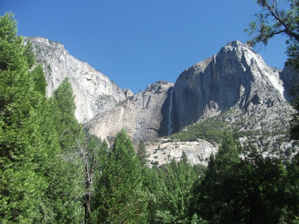 Yosemite Falls within the National Park