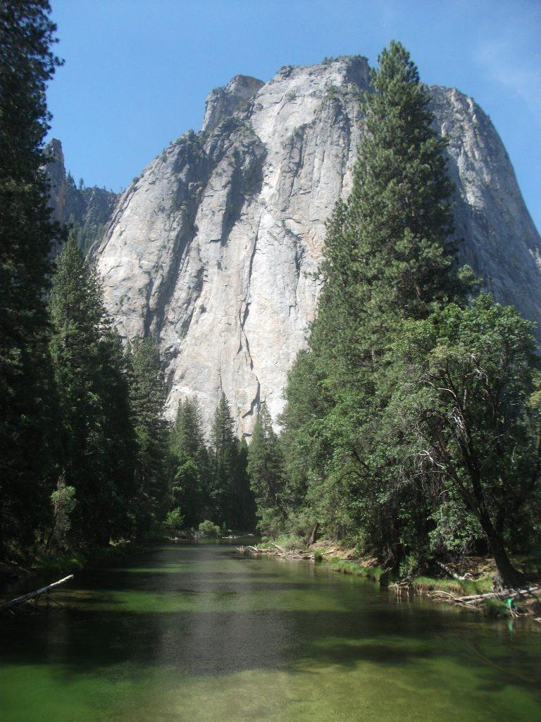 El Capitan, a popular climbing route in Yosemite National Park