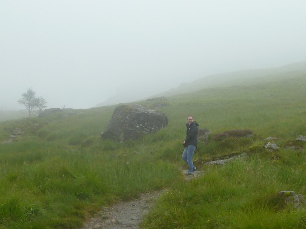 Thickening Fog on the Narnain Boulders path