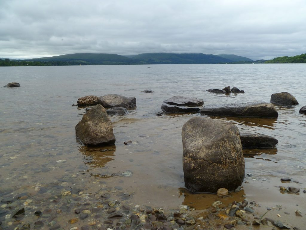 The views over Loch Lomond from our Balloch Walk