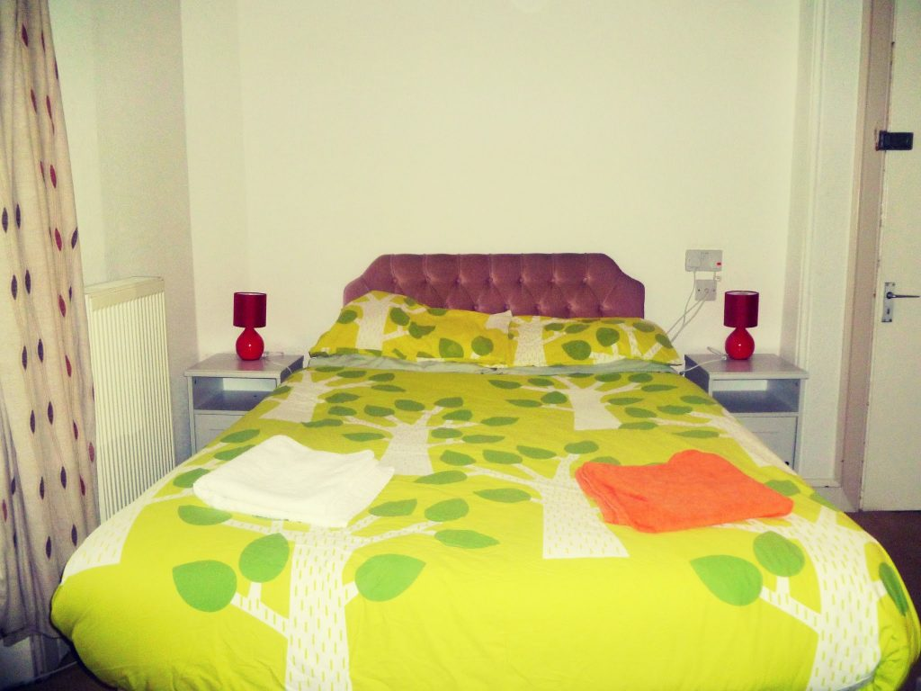 Double Bed in a Private Room