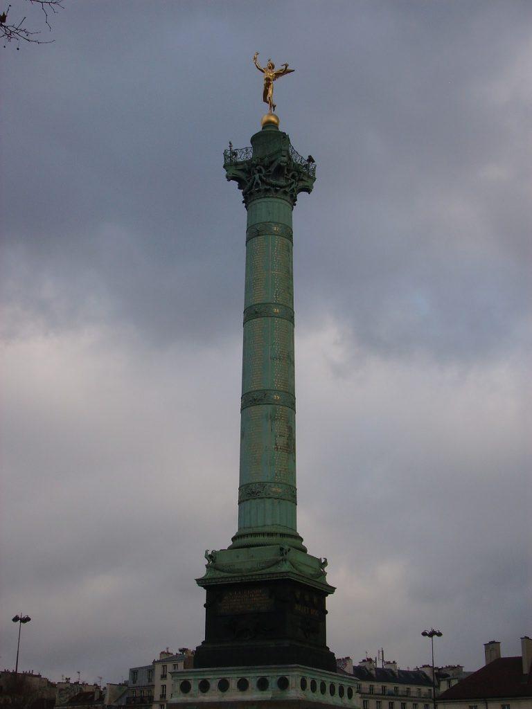 The July Column in Bastille Square, Paris
