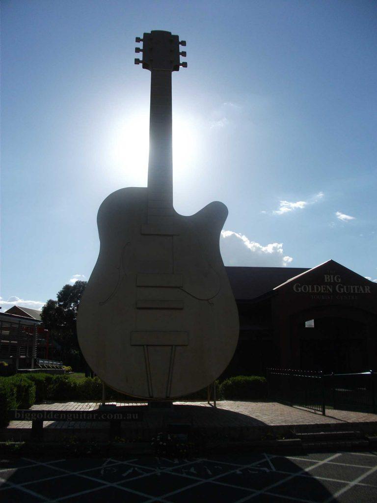 The Big Golden Guitar, Tamworth