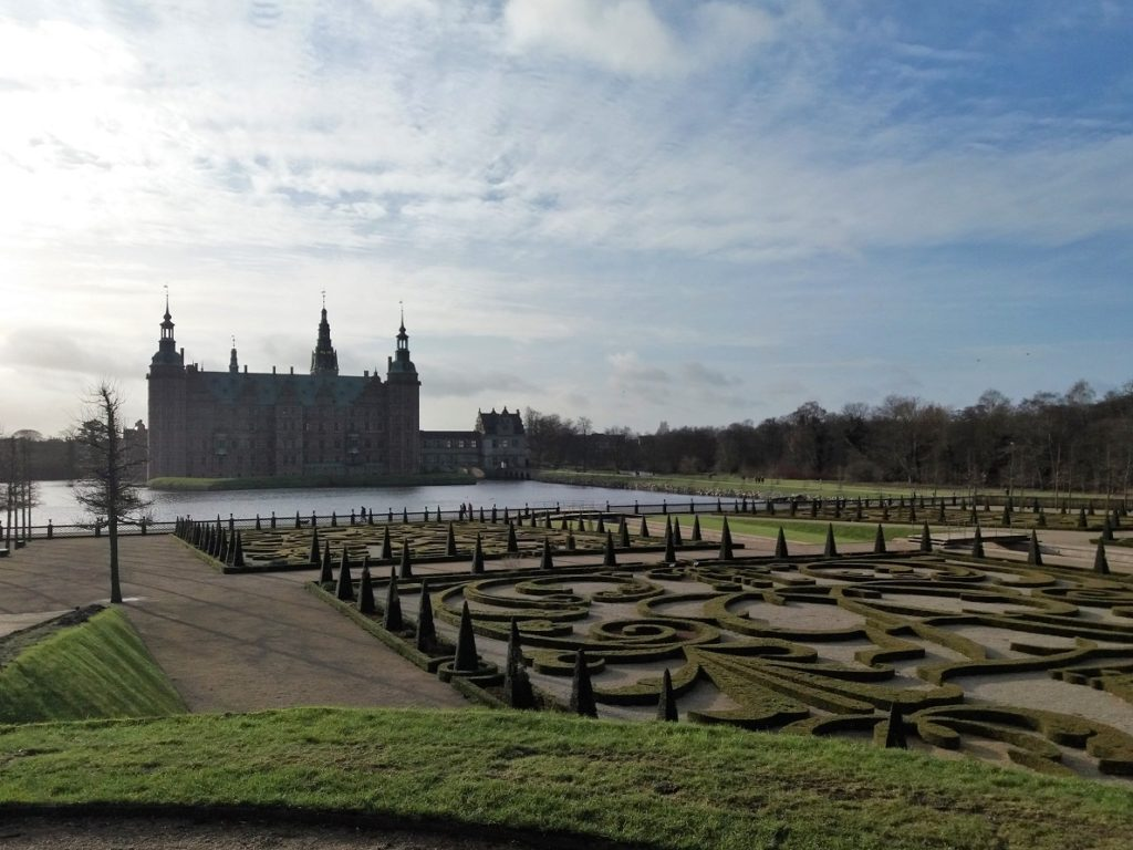 Frederiksborg Castle and Gardens in Hillerod north of Copenhagen