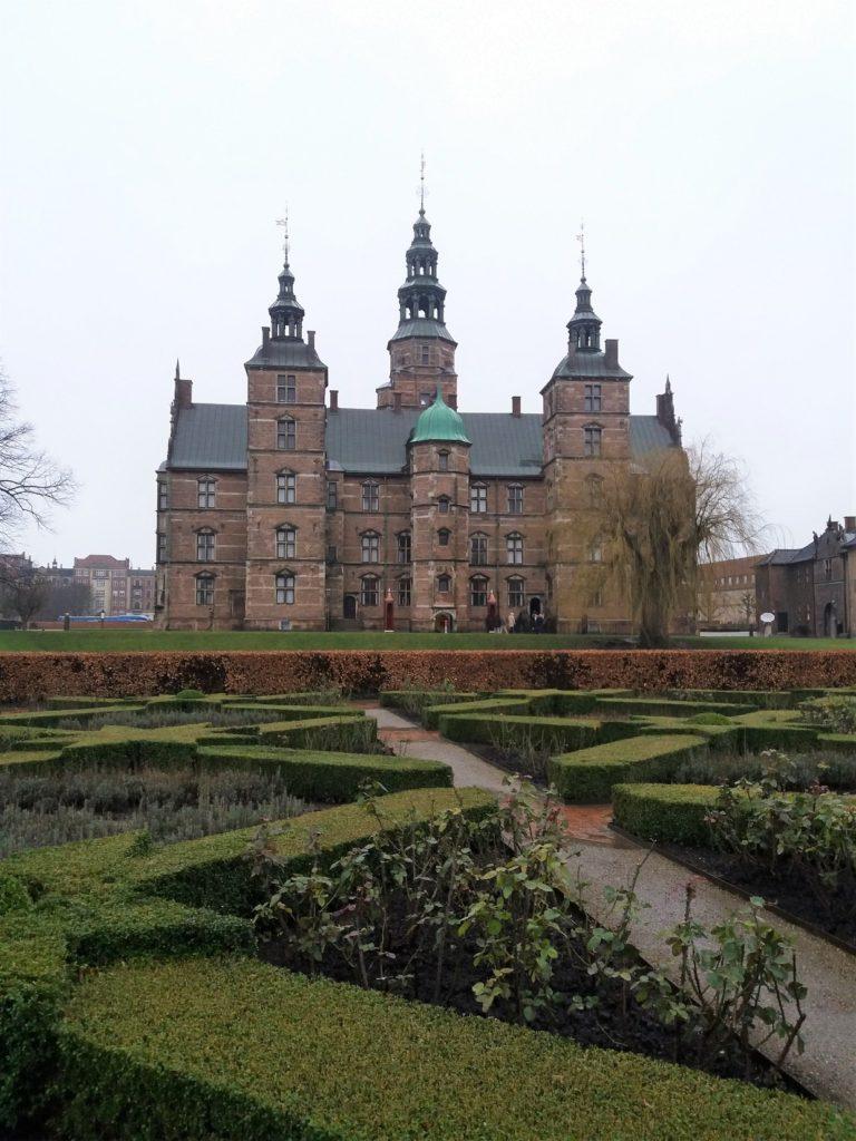 Rosenborg Palace in Copenhagen, Denmark