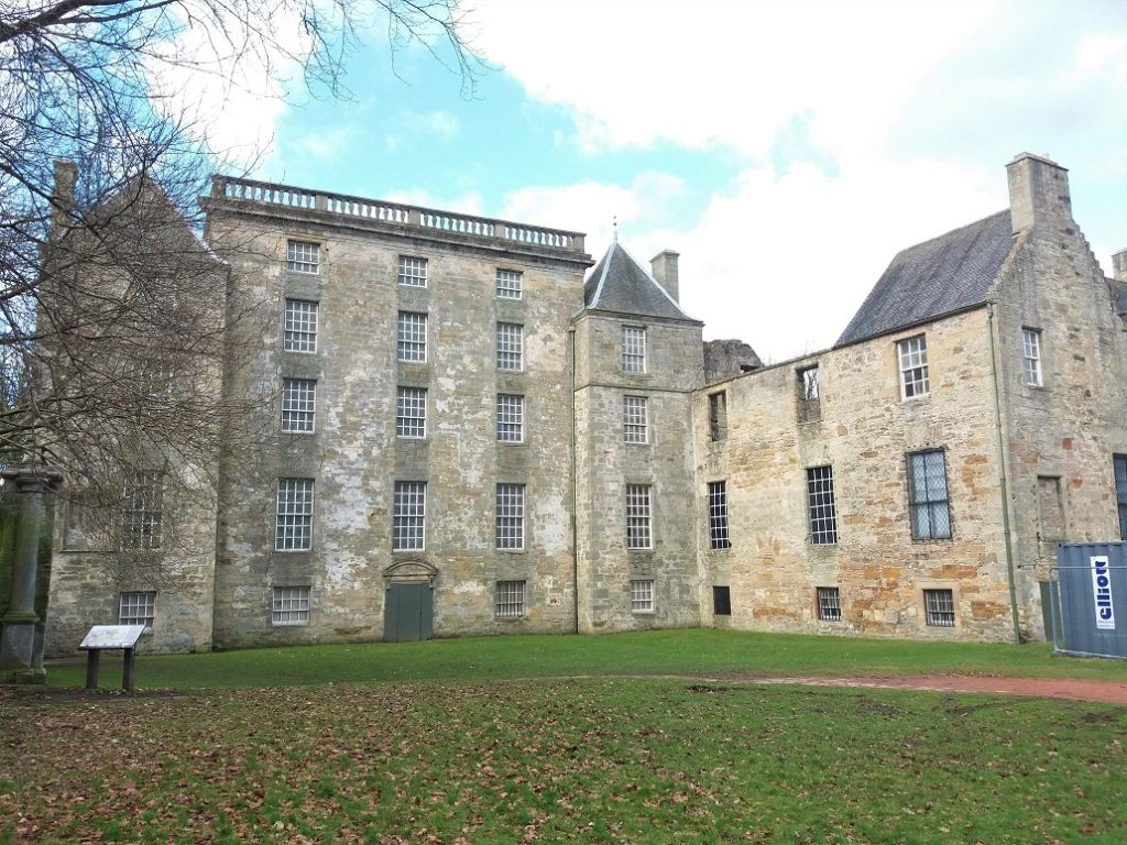 Front of Kinneil House