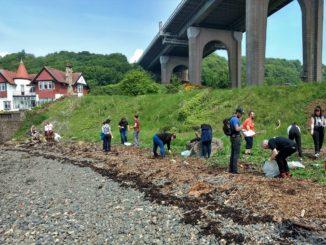 Shore You Care Beach Clean at Ferrycraigs in Fife